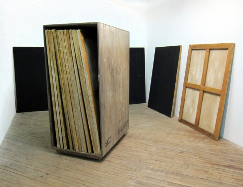 Dan Levenson, SKZ Student Monochrome Workshop installation view, December 2011