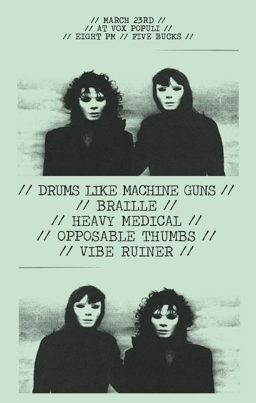 likes machine gun