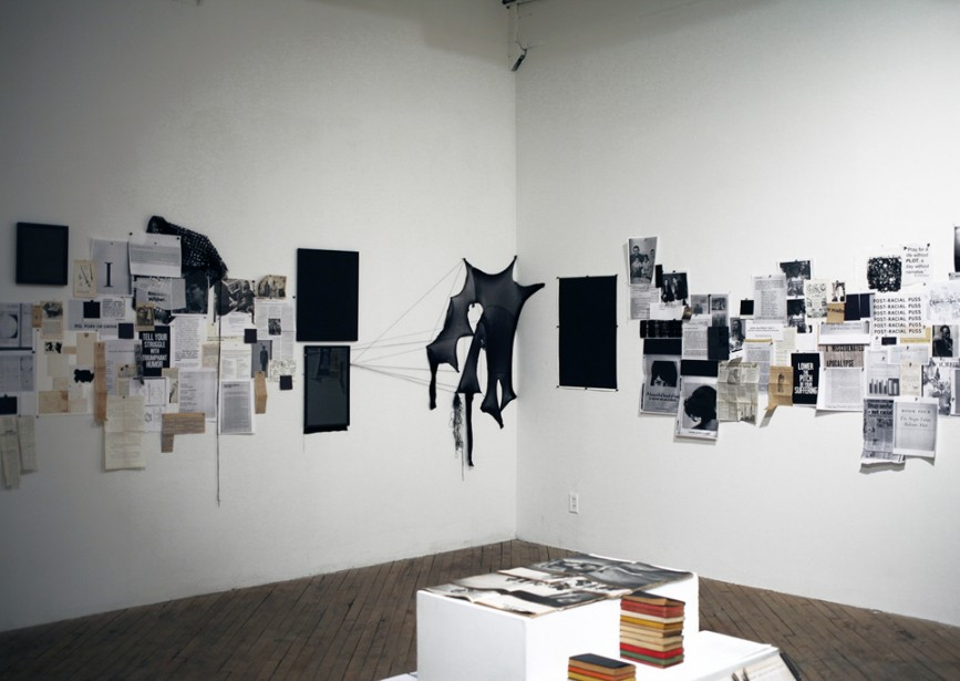 """Kameelah Rasheed, 2015 Guest Artist, """"No Instructions for Assembly, Activation VII"""" at Vox Populi"""