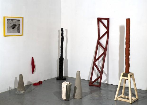 Image Caption: Sample of works from Alluvium, 2015