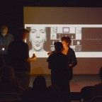 """Alan Labb's performance lecture in the kick off event of """"Call of the Wild: Pioneers, Rebels and Heroines"""" – an evening of dedications to Barbara DeGenevieve."""