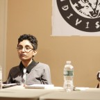 The panelists involved in a discussion, Preeti Pathak and Catzie Vilayphonh pictured.