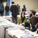 Vendors at the Philadelphia Photo Arts Center Book Fair