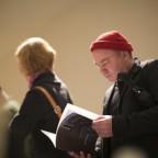 Visitors at the Philadelphia Photo Arts Center Book Fair