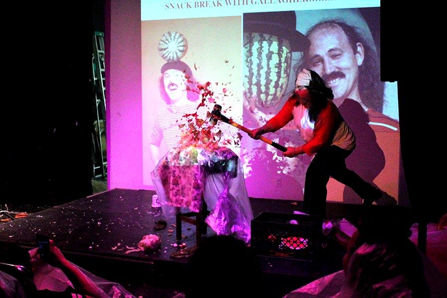 Jaimie Warren at AUX Performance Space