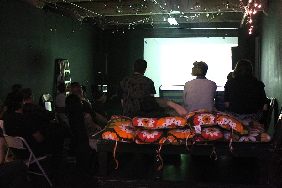 """""""Pig Story"""" screening at AUX Performance Space"""