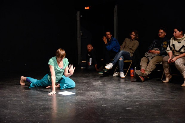Asimina Chremos in Marissa Perel's Subject Worthy: The Wounded Body in Performance
