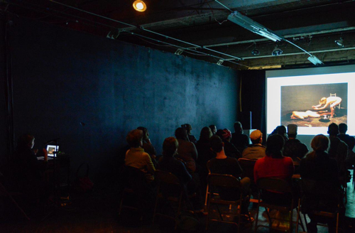 Marissa Perel artist-curator lecture image credit: Sharon Koelblinger