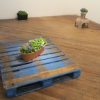 Steven Cottingham, 'I don't think I believe in democracy, I'm not even sure I believe in love.',  Forget-me-not flowers are grown in the gallery, eventually to be replanted outside the windows of elected officials.
