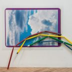 """You gotta play it to win, 2016 Archival Pigment Print and found objects 30"""" x 40"""""""