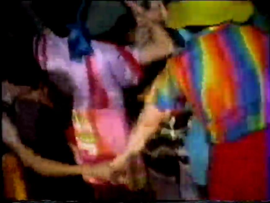 Laziza Videodance & Lumia Project, still from Distortion, 1982